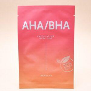 Barulab AHA/BHA Exfoliating Mask, Очищающая маска с АНА/ВНА кислотой, 1 шт