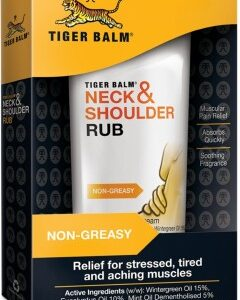 Tiger Balm Neck And Shoulder Rub, Согревающая мазь для шеи, 50 гр.