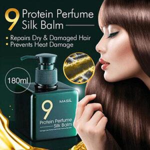 Masil Protein Perfume Silk Balm, Протеиновый несмываемый бальзам для волос,180 мл