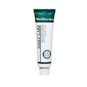 Wellderma Daily Care Recovery Cream, Восстанавливающий крем с центеллой, 30мл
