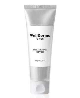 Wellderma G Plus Embellish Essence Cleanser, Пенка для умывания с гиалуроновой кислотой и маточным молочком,100 мл
