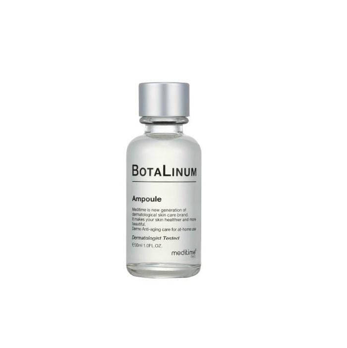 Meditime Botalinum Ampoule, Лифтинговая экспресс-сыворотка с ботулопептидом, 30мл