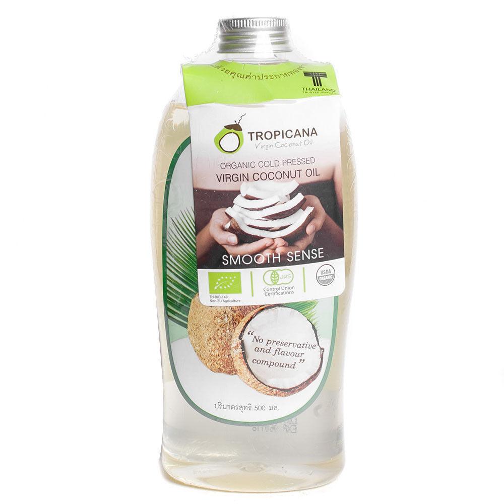 Tropicana Coco Oil, Кокосовое масло холодного отжима, 500 мл