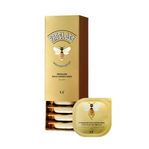 VT Progloss Capsule Mask, Питательная смываемая маска с медом и золотом, 7,5 гр
