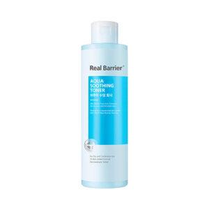 Real Barrier Aqua Soothing Toner, Успокаивающий увлажняющий тонер, 50 мл