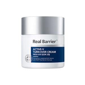 Real Barrier Active-V Turnover Cream, Ночной обновляющий пептидный крем для лица, 50 мл