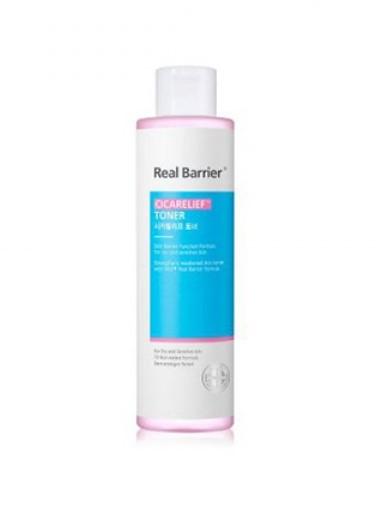 Real Barrier Cicarelief Toner, Успокаивающий тонер для чувствительной кожи, 190 мл