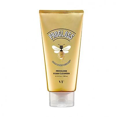 VT Progloss Foam Cleanser, Очищающая пена для умывания с медом и золотом, 300 мл