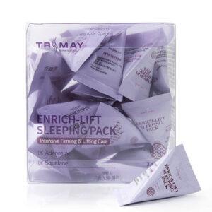 Trimay Enrich-lift Sleeping Pack, Лифтинговая ночная маска, 1 шт