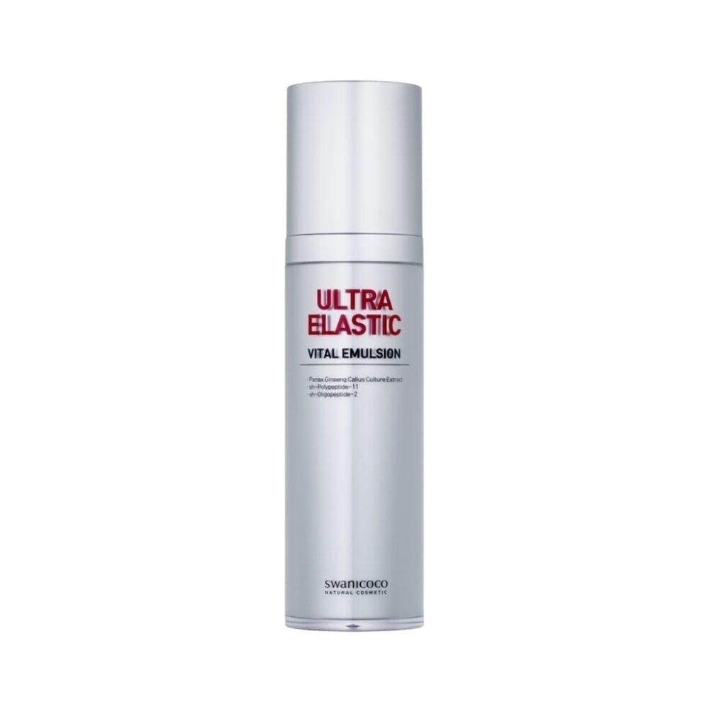Swanicoco Ultra Elastic Vital Emulsion, Пептидная эмульсия для эластичности кожи, 120 мл