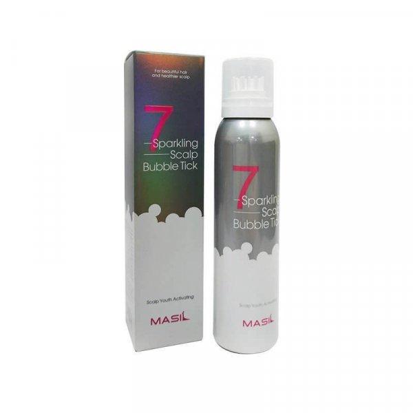 Masil Sparkling Scalp Bubble Tick, Пенящееся пилинг-средство для очищения кожи головы и роста волос