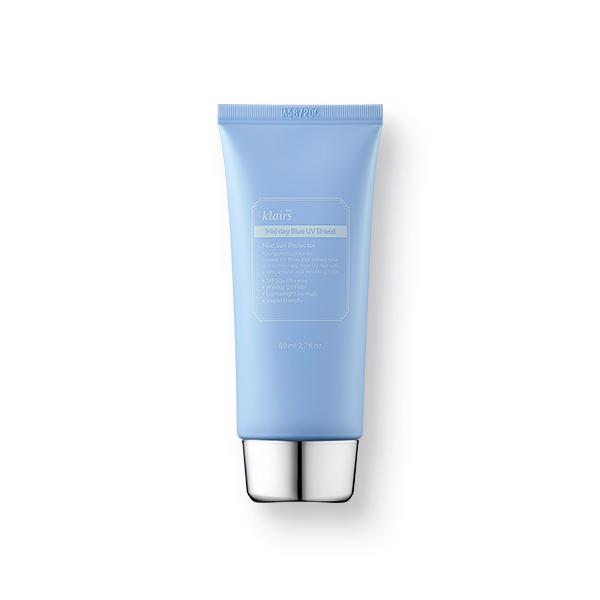 Klairs Mid Day Blue UV Shied SPF 50+ PA++++, Солнцезащитный крем для чувствительной кожи, 80 мл