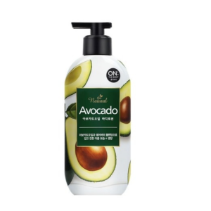 On:The Body Avocado oil body lotion, Лосьон для тела авокадо, 400 мл