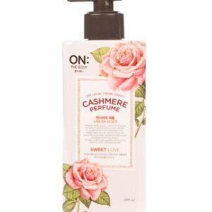"On:The Body Cashmere Perfume ""Sweet Love"", Лосьон для тела кашемир Светлая любовь, 480 мл"