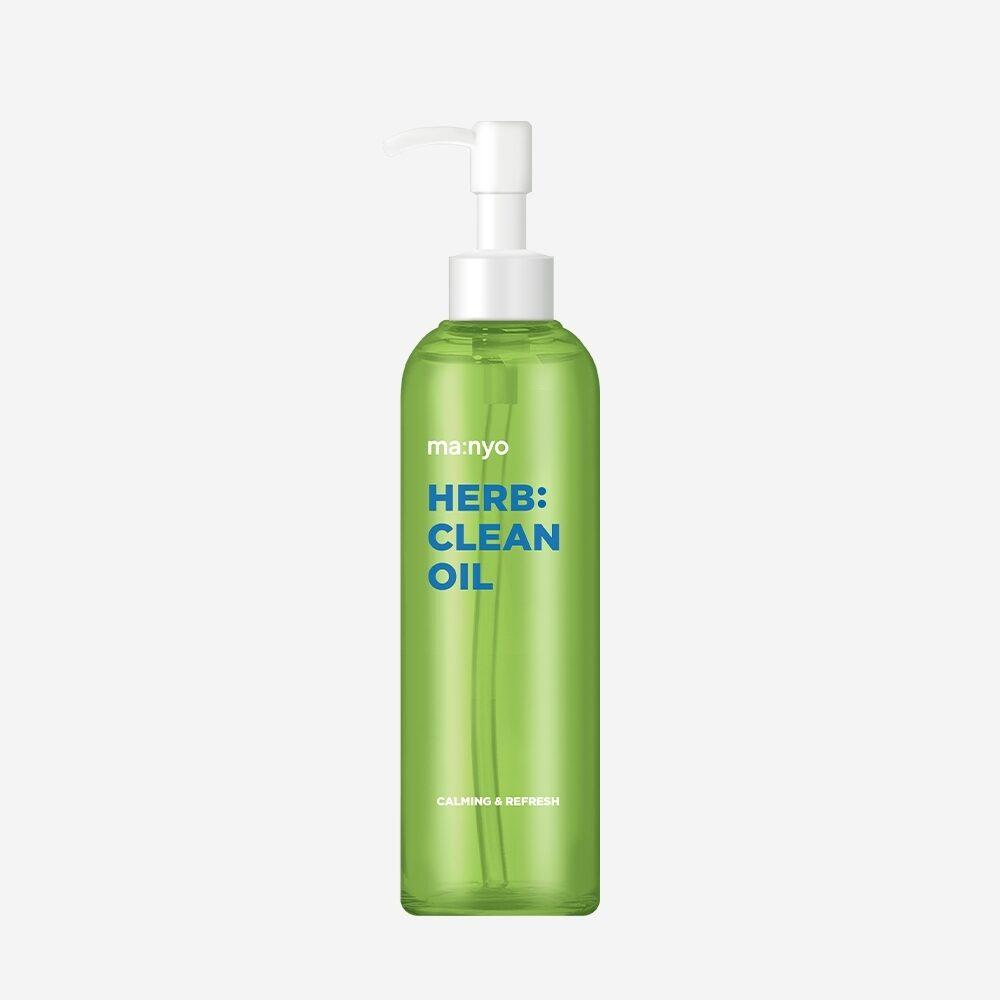 Manyo Factory Herb Clean Oil, Очищающее гидрофильное масло с экстрактами трав, 200 мл