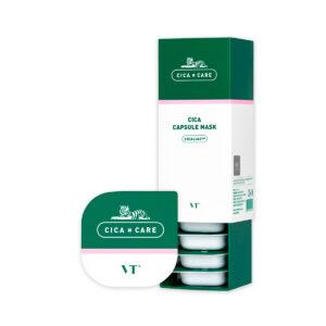 VT Cica Capsule Mask, Очищающая успокаивающая маска, 7,5 гр