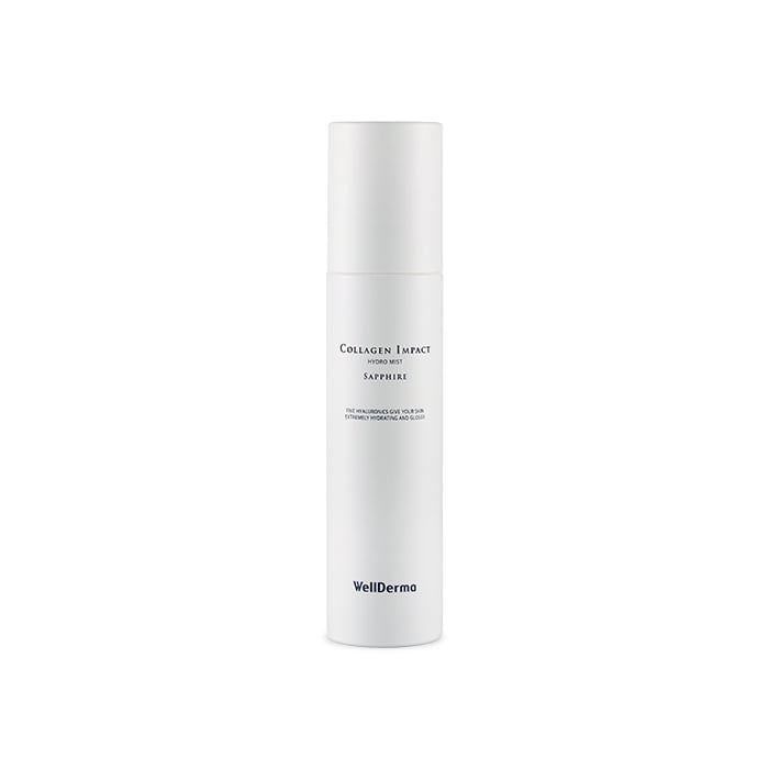 Wellderma Sapphire Collagen Impact Hydro Mist, Коллагеновый мист для лица, 150 мл