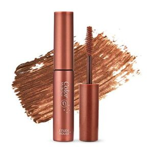 Etude House color my brows no.3 red brown, Тушь для бровей