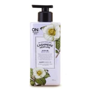 "On:The Body Cashmere Perfume ""Happy Breeze"", Лосьон для тела кашемир Легкий Бриз, 480 мл"