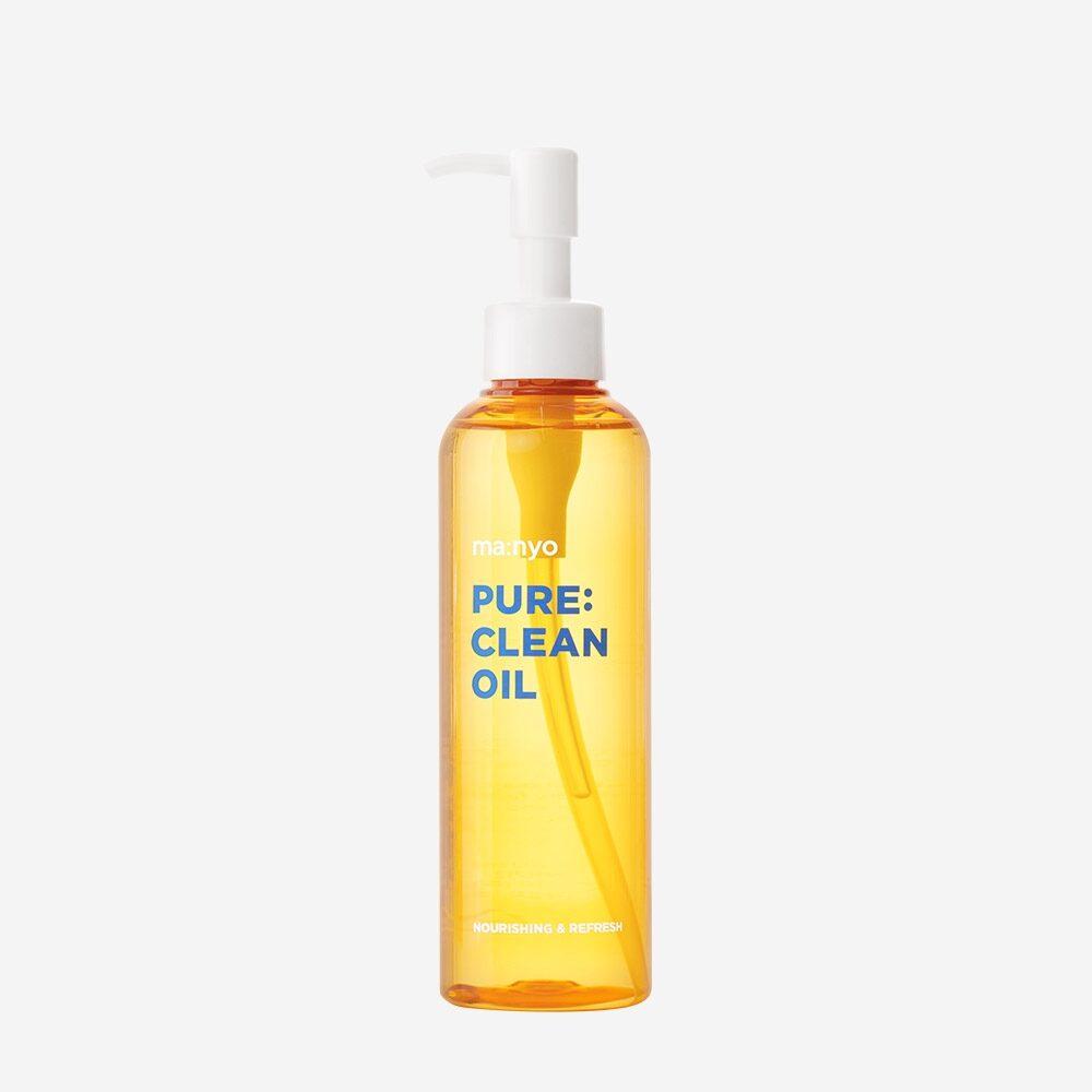 Manyo Factory Pure Clean Oil, Очищающее гидрофильное масло для глубокого очищения кожи, 200 мл