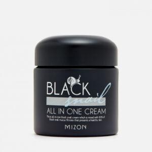 Mizon Black Snail All In One Cream, Крем для лица с черной улиткой, 75 гр