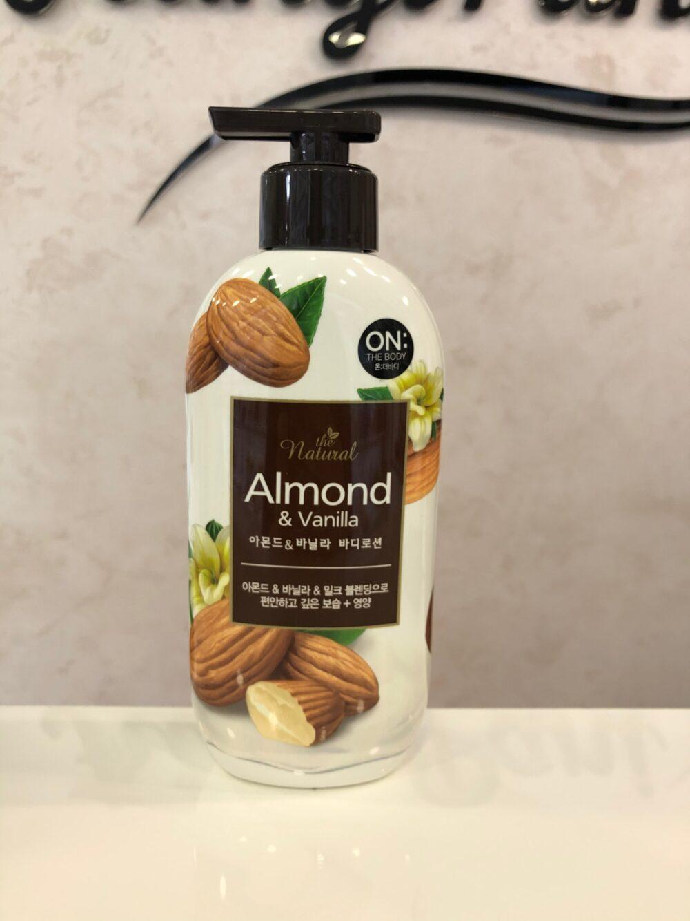 On:The Body Almond&Vanilla body lotion, Лосьон для тела миндаль и ваниль, 400 мл