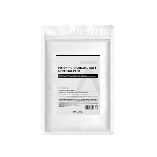 Dermabell Basic Purifying Charcoal Soft Modeling Pack, Альгинатная успокаивающая детокс-маска(Проф.уход), 400гр