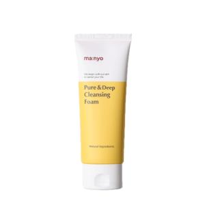 Manyo Factory Pure&Deep Cleansing Foam, Очищающая пенка для глубокого очищения кожи, 100 мл