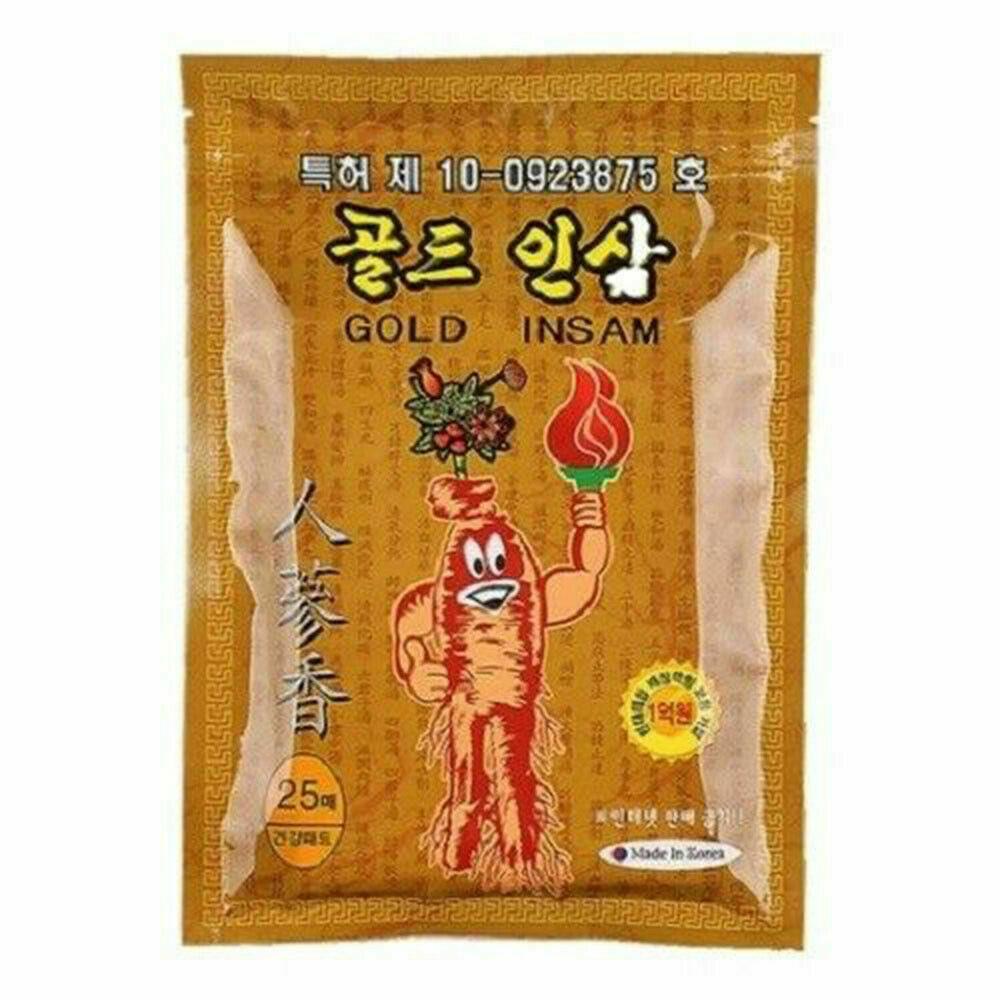 Корейский пластырь с двойным красным женьшенем от болей в суставах