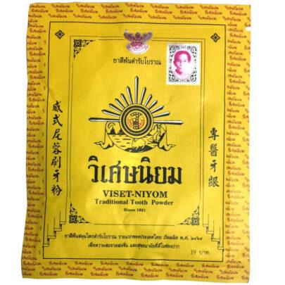 Viset-Niyom Traditional Tooth Powder, Зубной порошок отбеливающий, 40 гр
