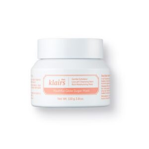 Klairs Youthful Glow Sugar Mask, Сахарная маска-скраб для сияния кожи, 110 гр