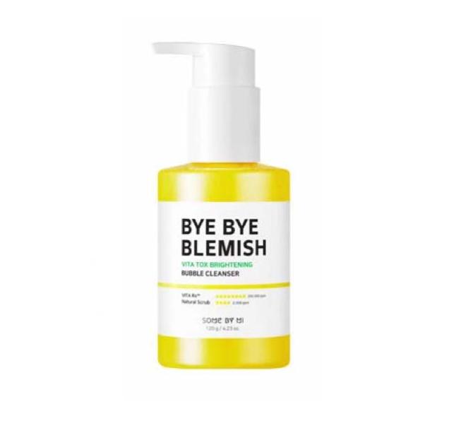 Some By Mi  Bye Bye Blemish, Пузырьковая маска-пенка на основе экстракта Юдзу, 120 гр