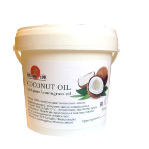 Aroma Spa 100% Рафинированное кокосовое масло с лемонграссом, 900 мл