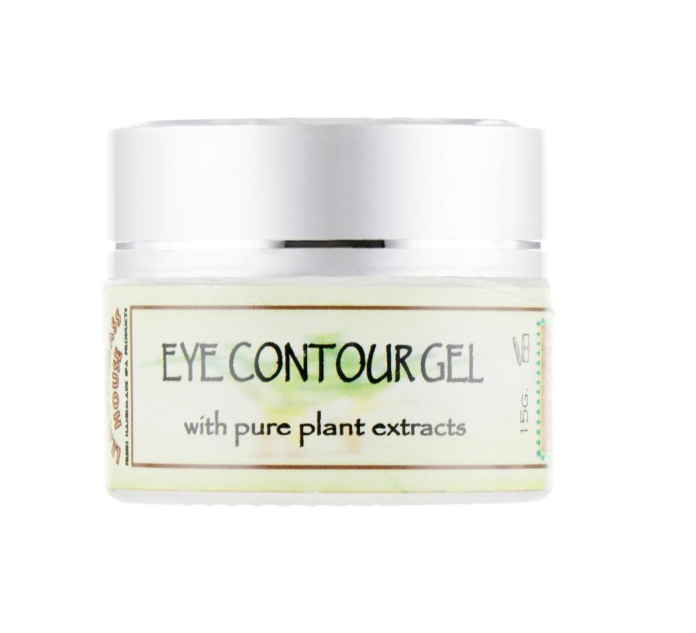 Eye contour gel, Антивозрастной гель для глаз с пептидом, 15 мл