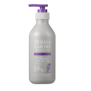 Derma & More Collagen Anti Hair Loss Shampoo, Шампунь против выпадения волос, 400 мл