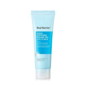 Real Barrier Aqua Soothing Peeling Gel, Увлажняющая пилинг-скатка для чувствительной кожи, 120 мл