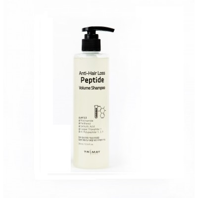 Trimay Anti-Hair Loss Peptide Volume Shampoo pH5.5, Пептидный шампунь против выпадения волос