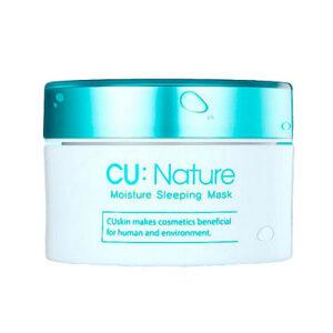 CU:NATURE Moisture Sleeping Mask, Ночная маска антивозрастная увлажняющая