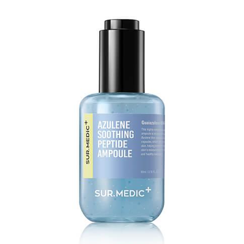 Sur.medic azulene soothing peptide ampoule, Пептидная ампула для чувствительной кожи, 80 мл