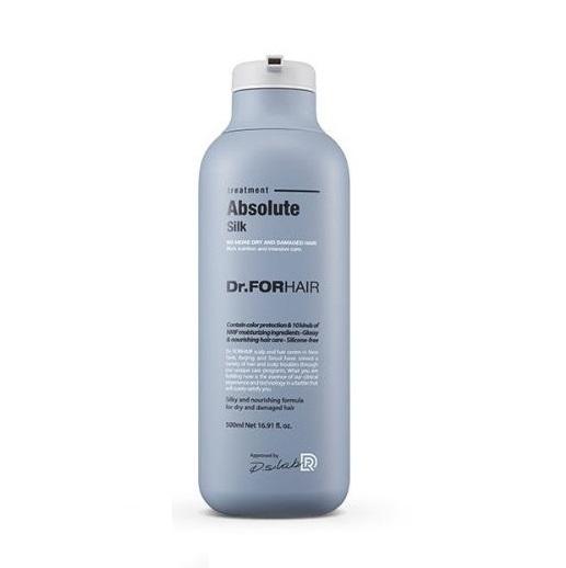Dr. ForHair Absolute Silk Treatment, Маска-кондиционер, восстанавливающая шелковистость волоса, 500