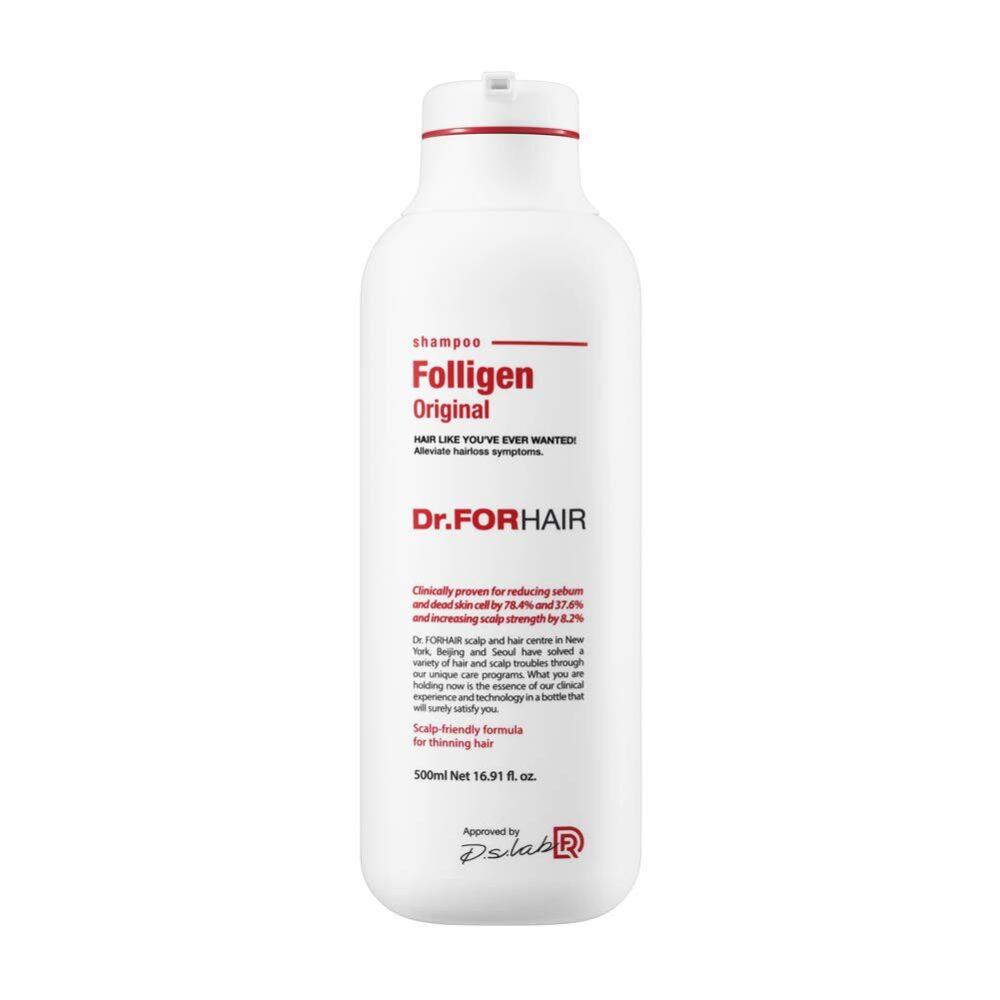 Dr. Forhair Восстанавливающий шампунь против выпадения волос протеиновый, 500 мл