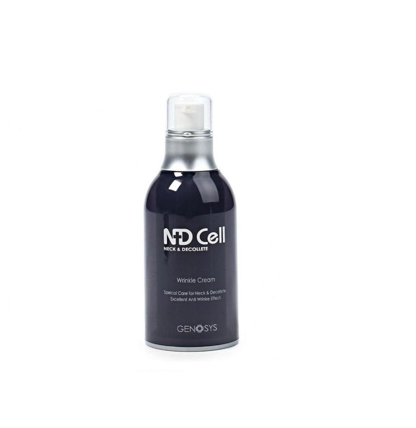 Genosys Anti-Wrinкle Cream, Антивозрастной крем для шеи и зоны декольте, 50 мл