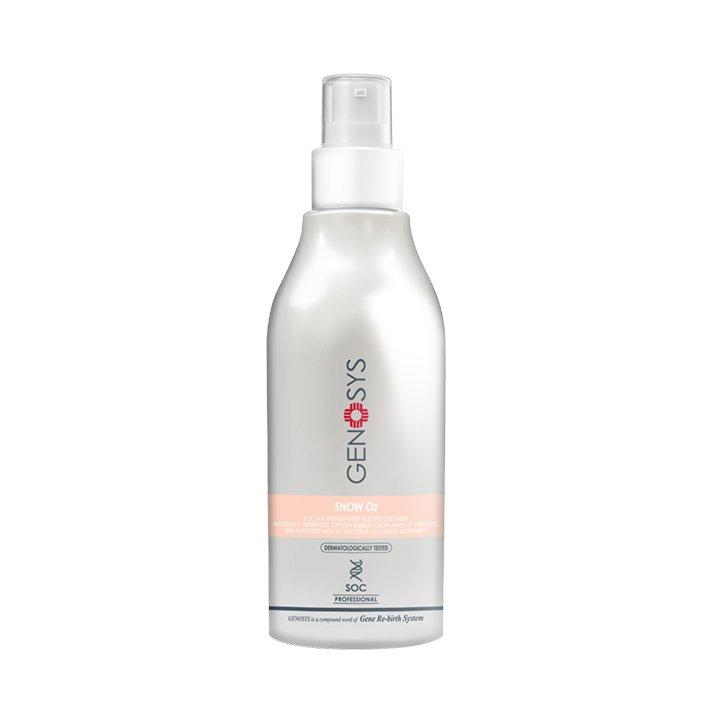 Genosys Snow O2 Cleanser, Очищающая кислородная пенка для лица,180 мл