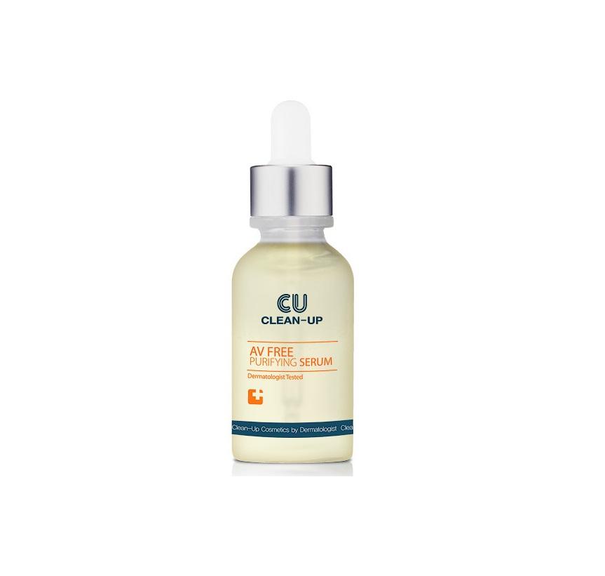 CU Clean-UP AV Free Purfling Serum, Очищающая сыворотка для проблемной кожи, 30 мл