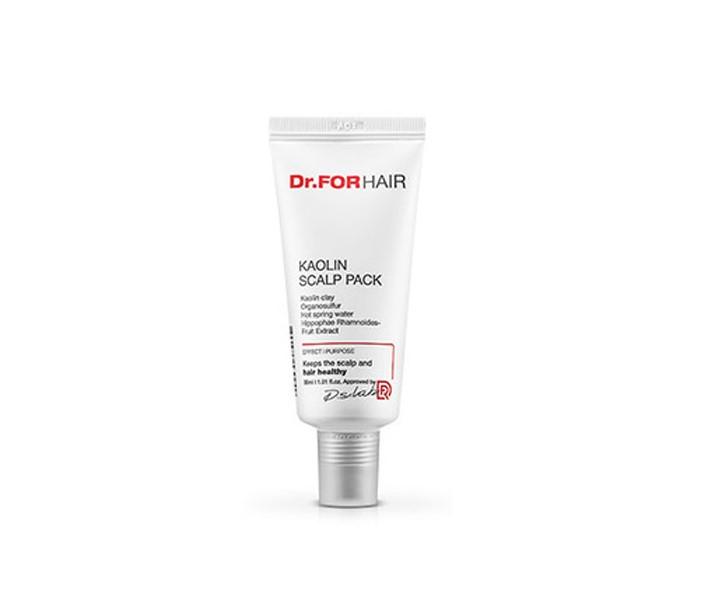 Dr. ForHair Kaolin Scalp Pack, Мульти-маска 4 в 1 для ухода за кожей головы, 30 мл