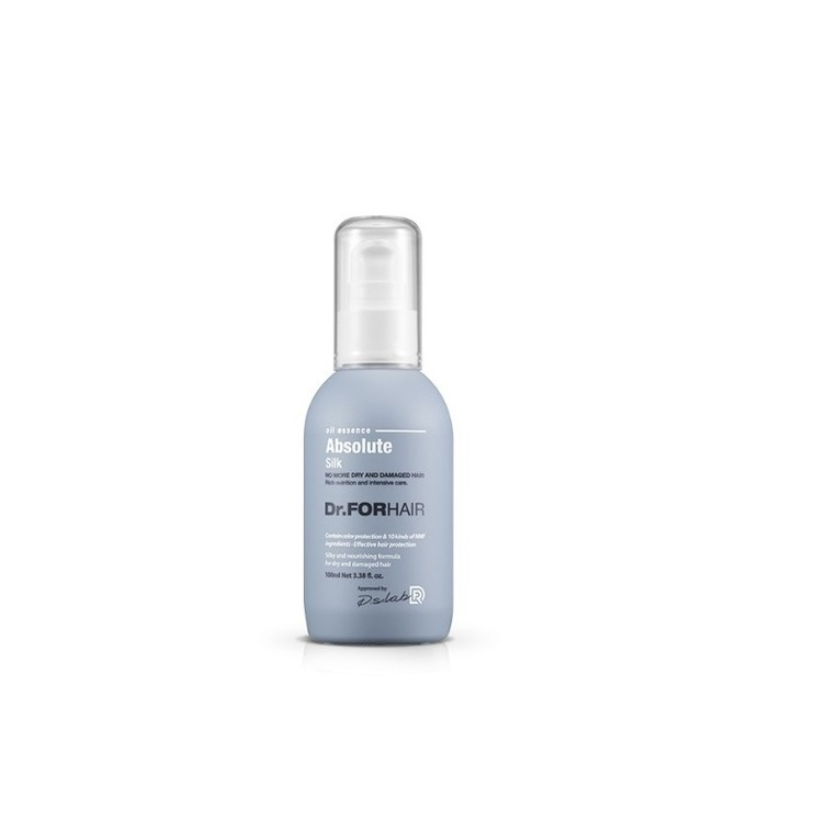 Dr. ForHair Absolute Silk Oil Essence, Шелковое масло-эссенция для волос с нежным ароматом, 100 мл