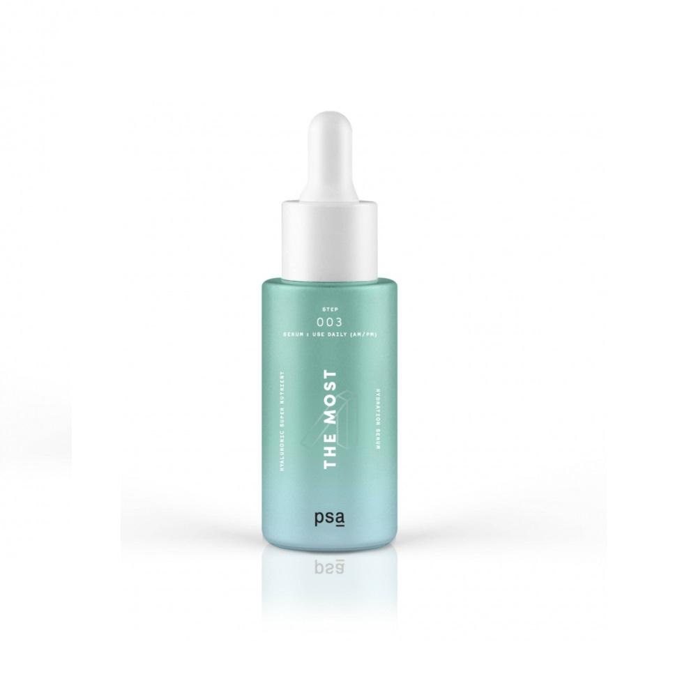 PSA THE MOST: Nutrient Hydration Serum, Супер питательная гиалуроновая увлажняющая сыворотка, 30 мл