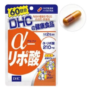 DHC Альфа-липоевая кислота 210 мг, 120 капсул