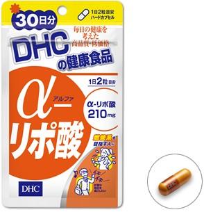DHC Альфа-липоевая кислота 210 мг, 60 капсул