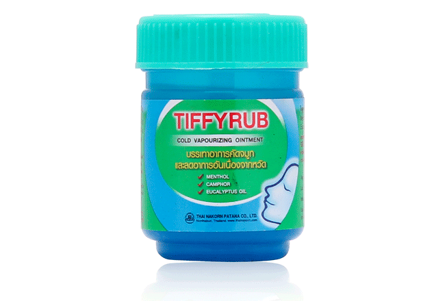 "Мазь от простуды ""Tiffyrub"", 20гр."
